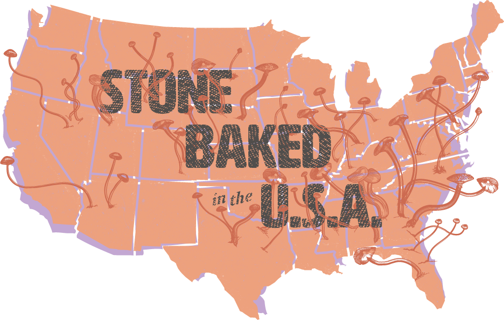 Stone baked in the U.S.A.