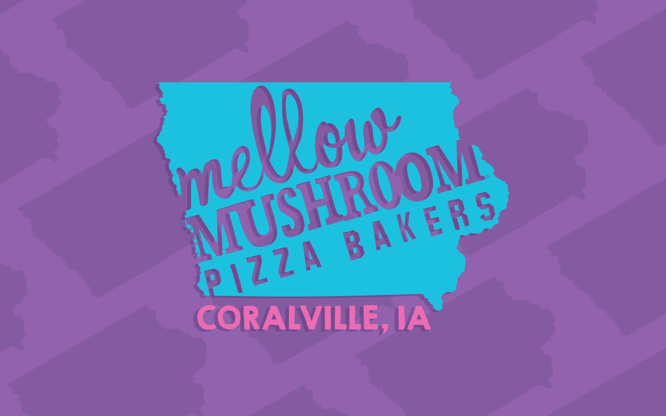Mellow Mushroom Coralville Local design logo store information