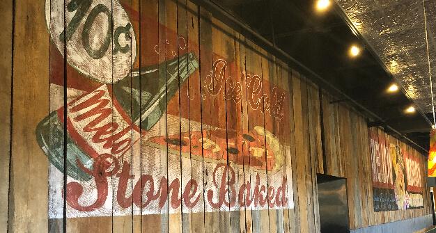 Mellow Mushroom Gatlinburg mural