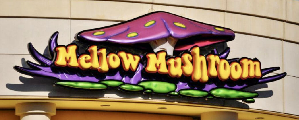 Store information About Mellow Mushroom Ballantyne signage
