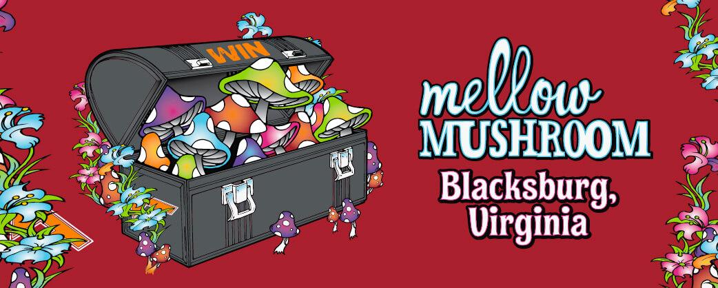 Store information Mellow Mushroom Blacksburg local store design
