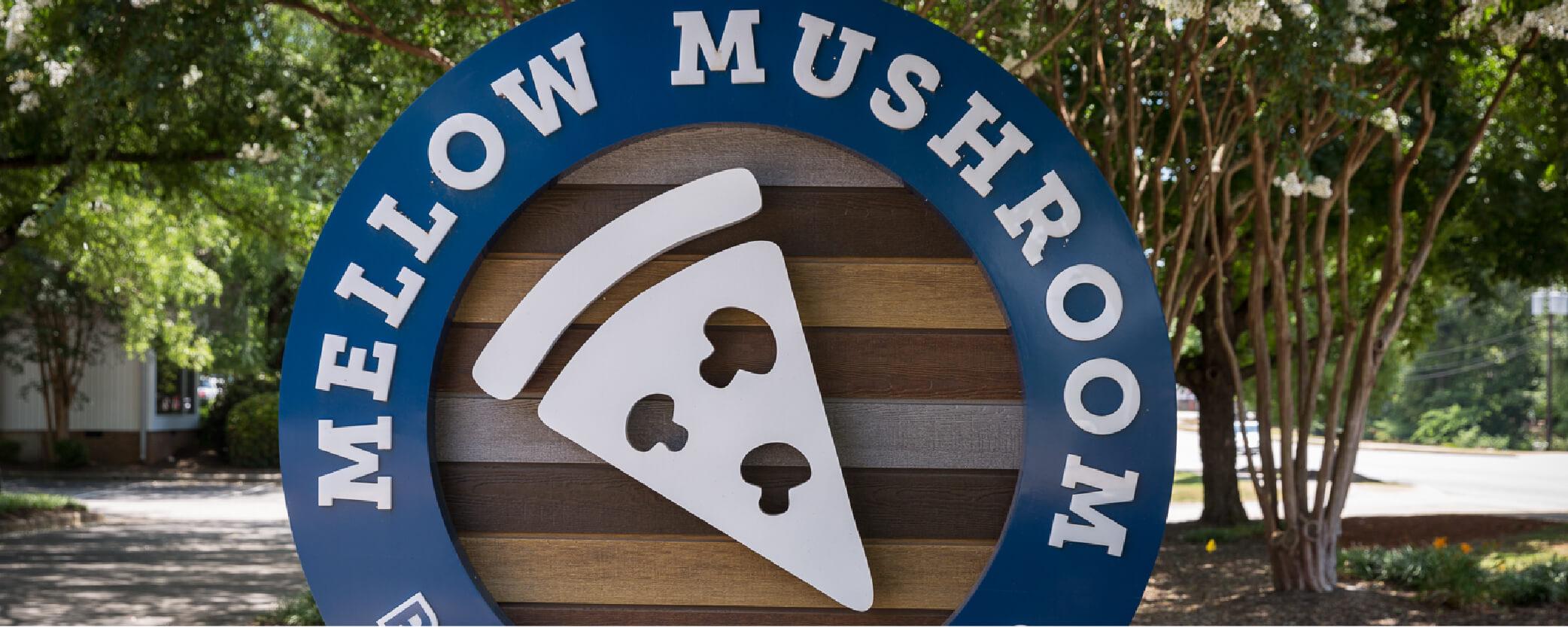 Mellow Mushroom Clemson - Street Signage