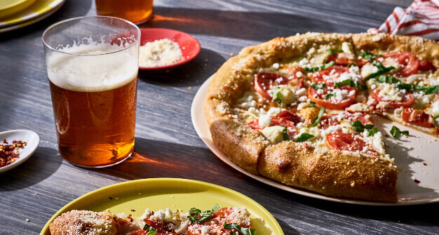Food Image Beer Pizza Specials
